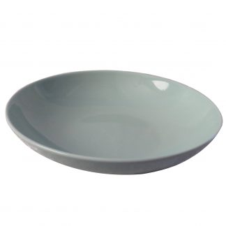 Dyb tallerken lysegrøn